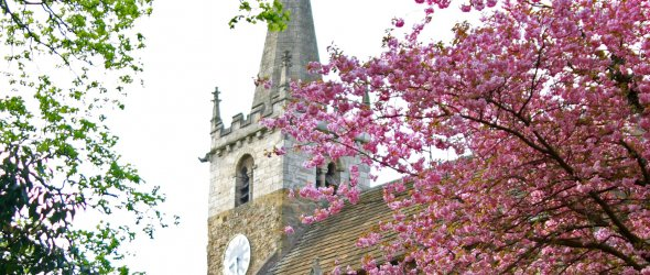 Image: All Saints Church, Ledsham.